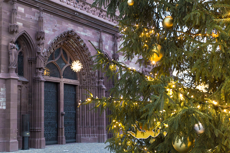 Basel Weihnacht Foto Bild